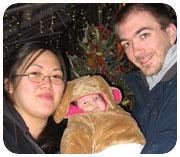 Mercy, Liliana and Sean Tapscott